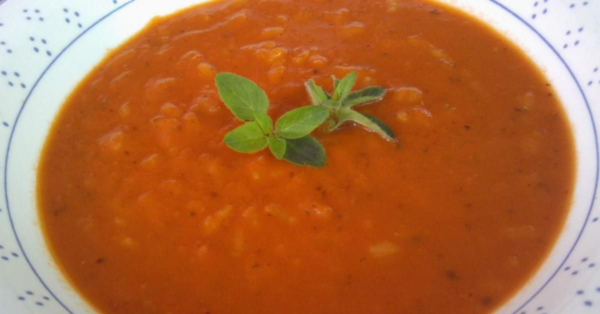 tomatensuppe mit reis rezept