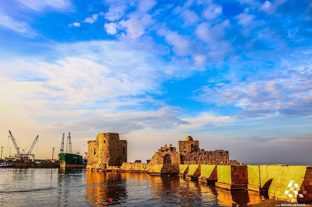 """""""The beautiful Sea Castle of Saida By @ElioHaddadphotography #WeAreLebanon"""""""