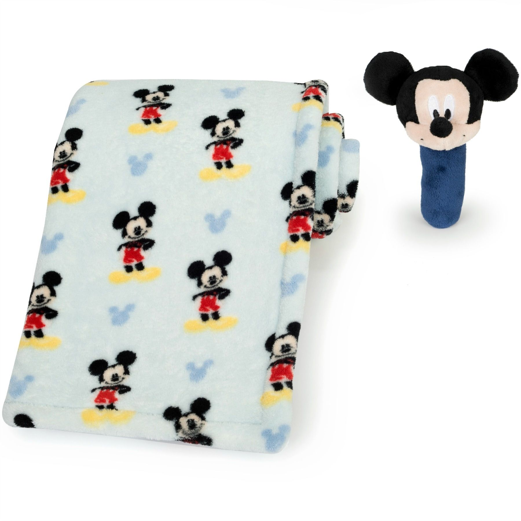 Your little one will be all ears at playtime with this printed ... : mickey mouse baby quilt - Adamdwight.com