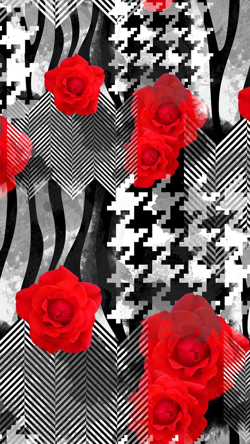 Взгляните на мой новый фона из Icon Skins! Flowery