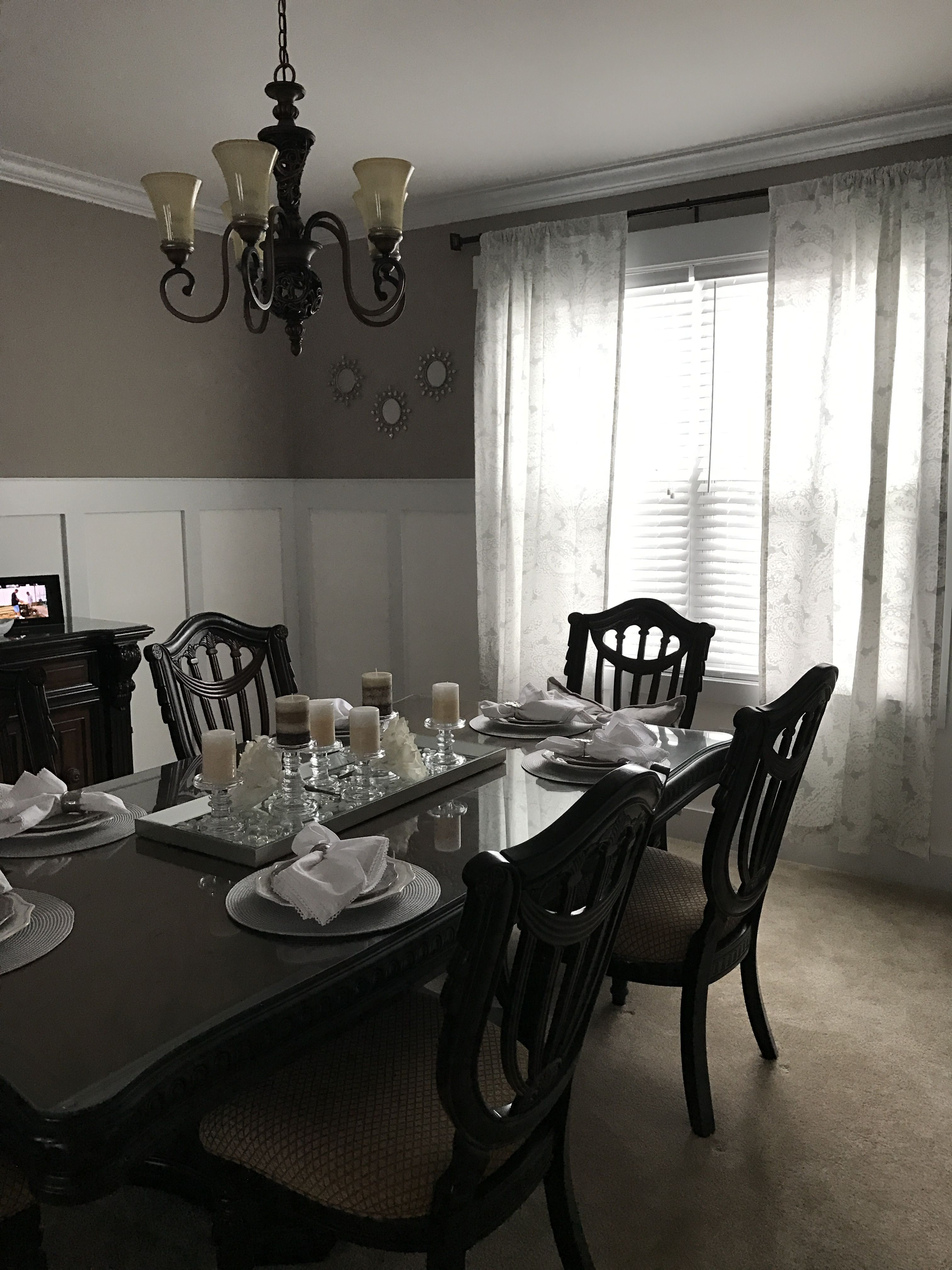 Dining Room Elegant Simple Pretty And Pulled Together Color