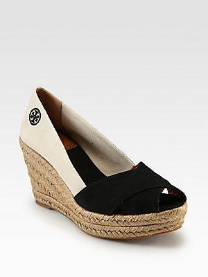 93c9c9a36c2c0 tory burch  wedge  sandals  shoes 30% OFF