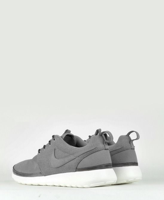 "timeless design faf43 64f2b shoe-pornn  "" Nike Roshe Run Premium NRG QS Grey White. """
