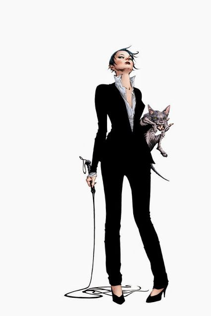 Catwoman by Jae Lee