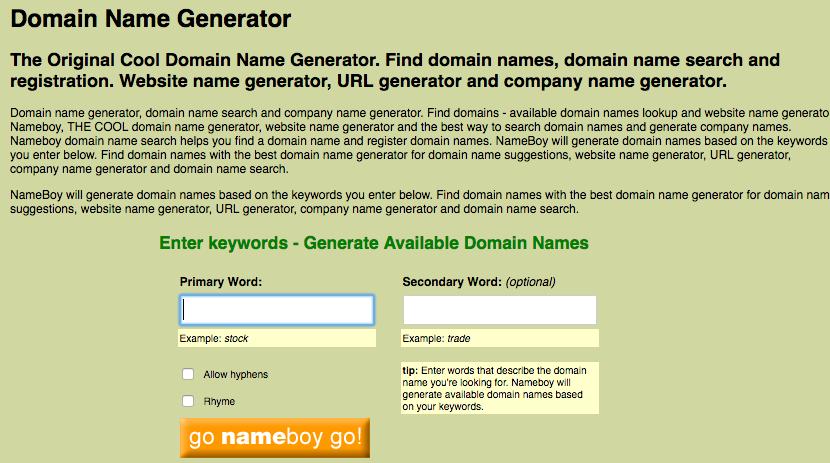 The 4 Best Blog Name Generators That You Must Use Today Makeblog Name Generator Blog Names Company Name Generator