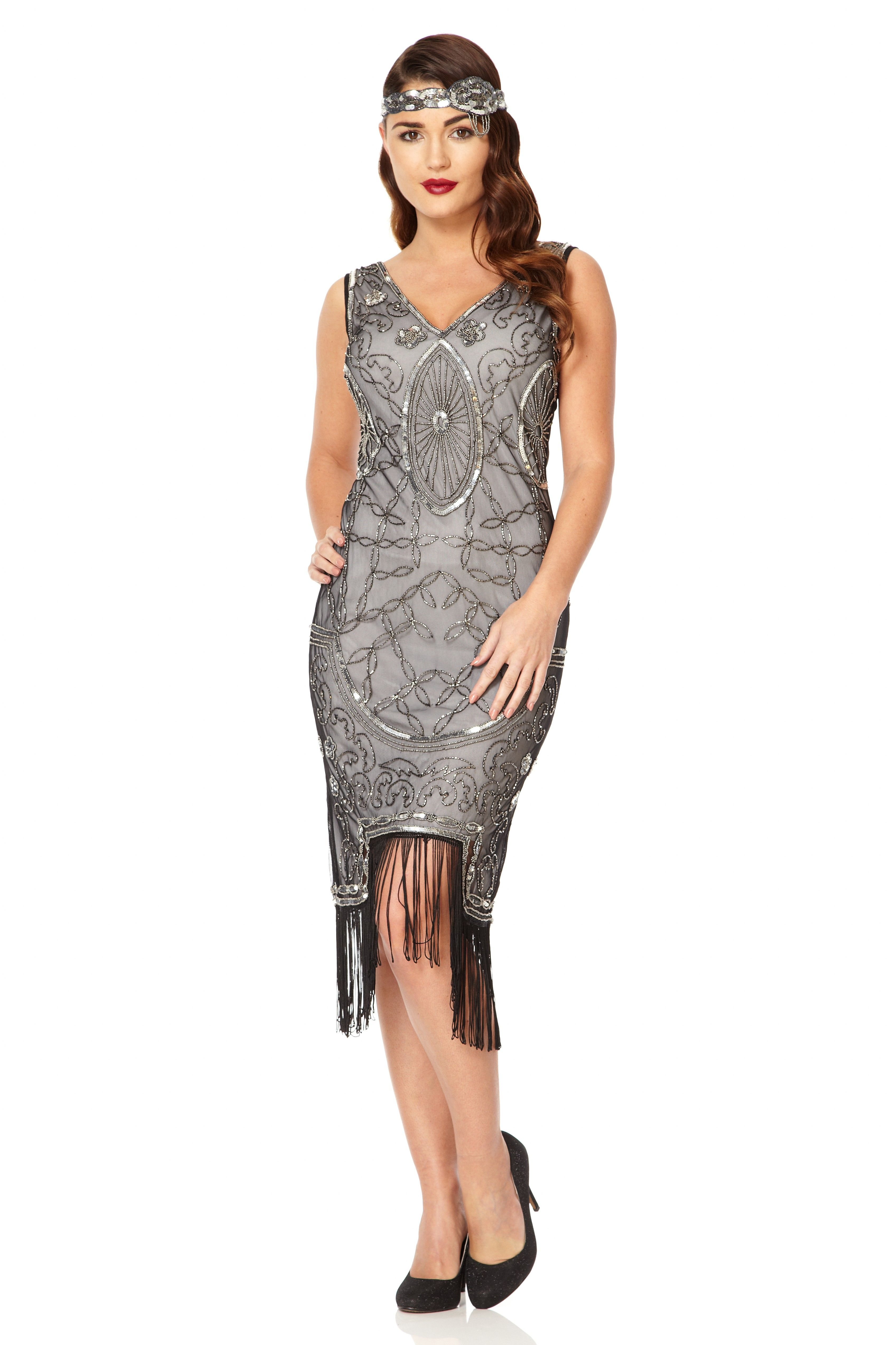 Grace Fringe Dress Gatsbylady is a family run business established ...