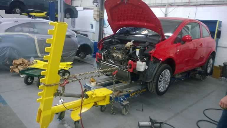 Jig Work Liverpool Car Body At Liverpool Car Body we use