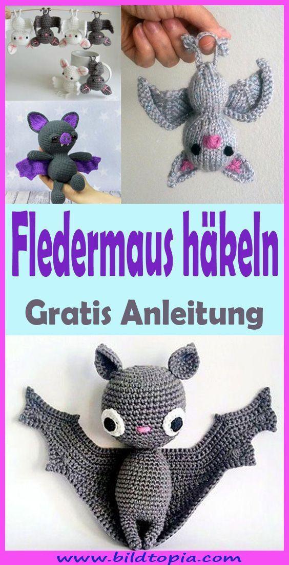 Photo of #einfache Häkelanleitungen für Anfänger Amigurumi Fledermaus häkeln  kostenl…