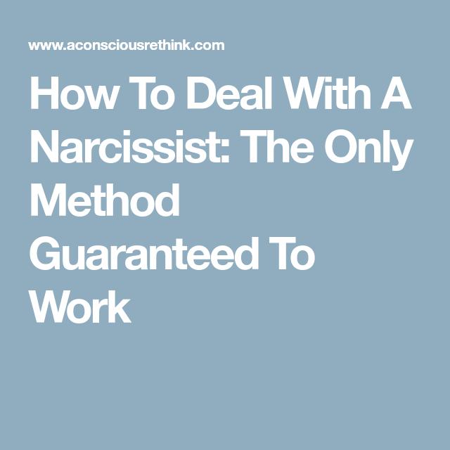 Handling a sociopath