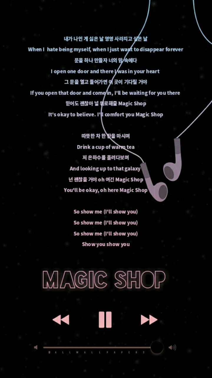 Magic Shop Love Yourself Tear Bts Wallpaper Lyrics Bts