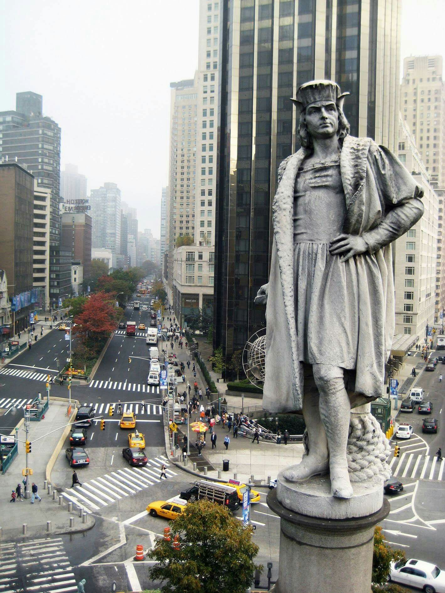 Today Back In Christopher Columbus Arrived Back In