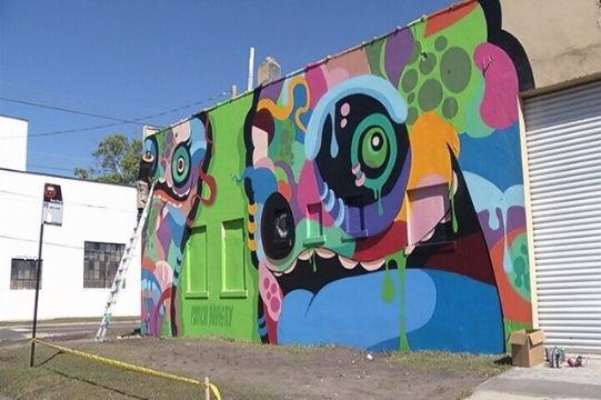 Artists Makeover Abandoned Riverside Warehouse Street Art Street Artists Artist