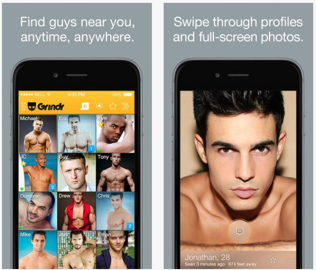 What is the most popular gay hookup app