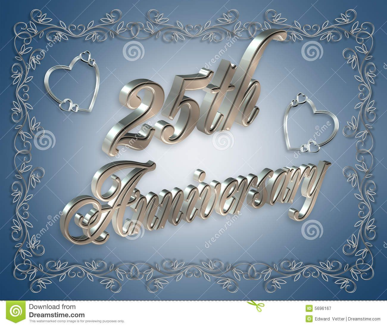 25th wedding anniversary cards free download - Google ...