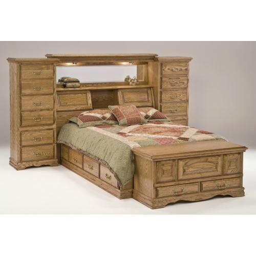Masterpiece Mid Wall Oak Bedroom Furniture American Heirlooms Clic Designs