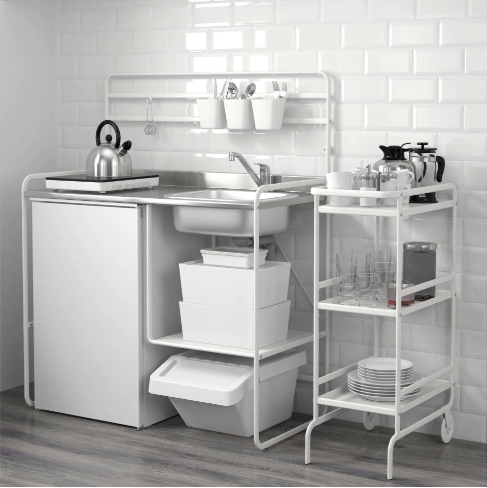 """SUNNERSTA Minikitchen 44 1/8x22x54 3/4 """" Ikea kitchen"""