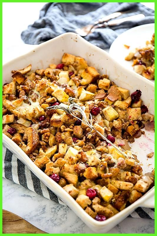 Fall Harvest Stuffing Give that traditional thanksgiving stuffing recipe a revival with this Fall Harvest Stuffing Recipe from Katie M Chase Informations About Fall Harve...