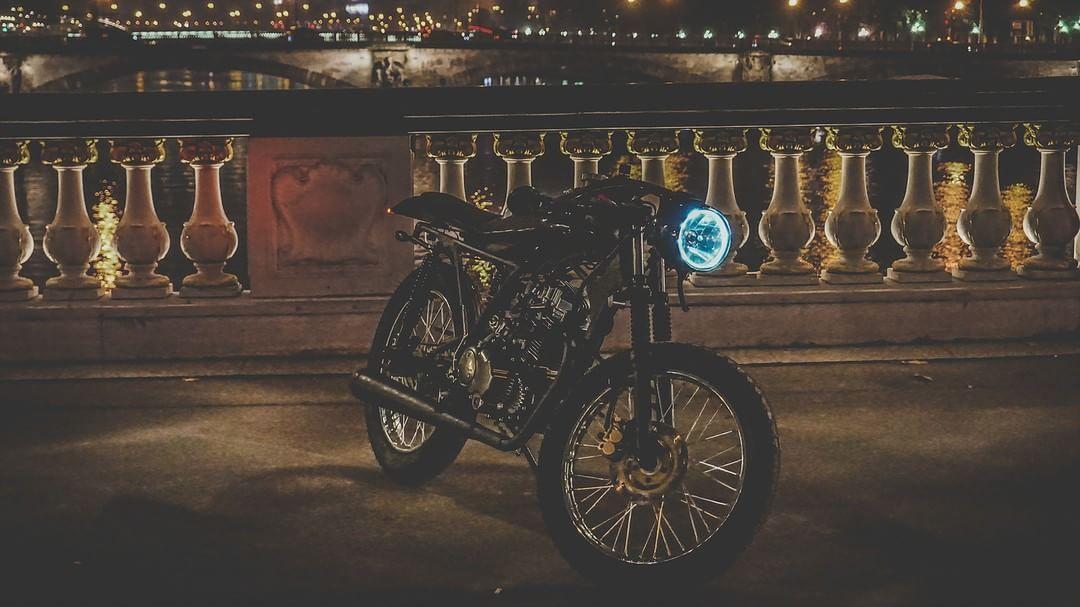 Custom Cafe Racer by Nikos Manafis design #motorcycles # ...