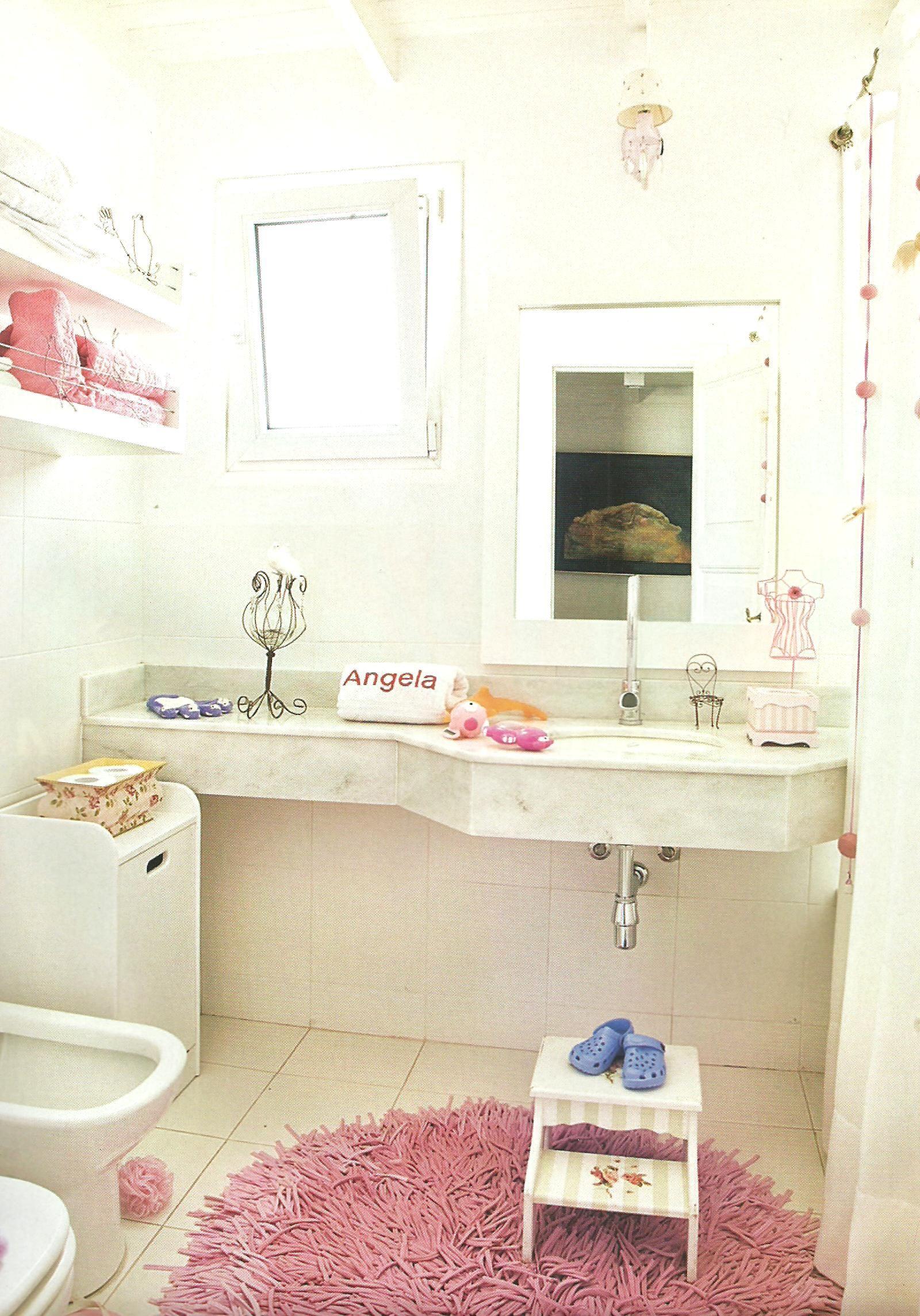 Baño decorado para niñas | Bathroom vanity, Vanity, Home decor