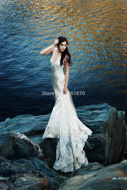 Find More Vestidos de Novia Information about nueva moda sirena 2014 ...