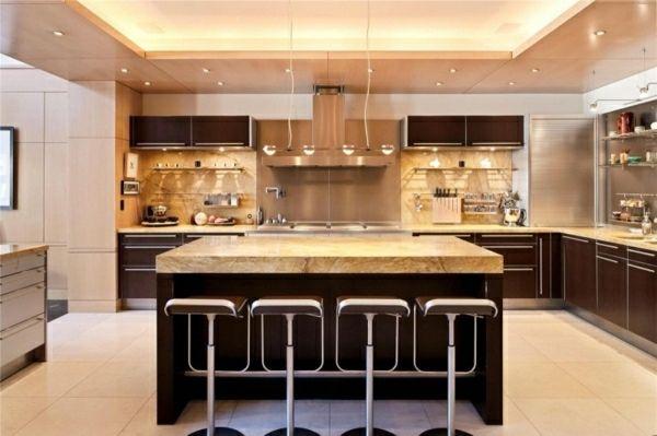 luxus kuche ka 1 4 che interieur penthaus kosten