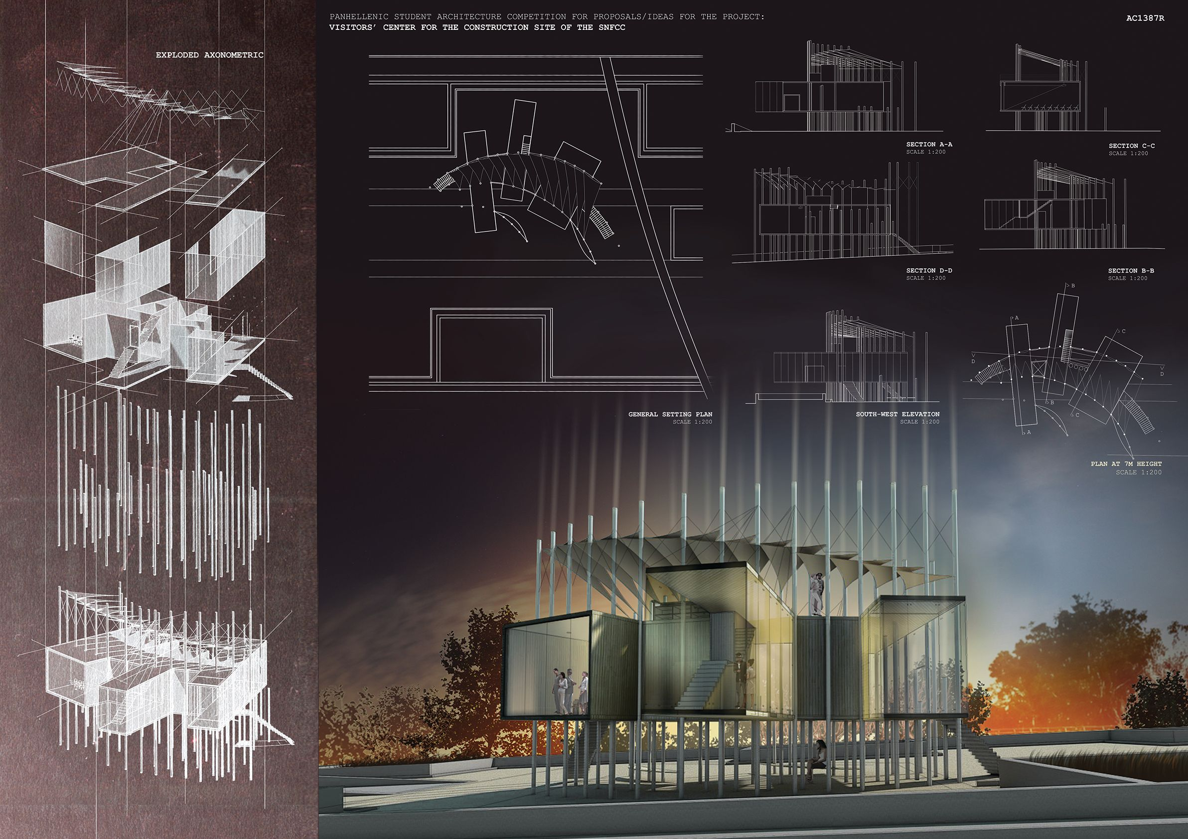 Panhellenic student architecture competition by for Architecture student