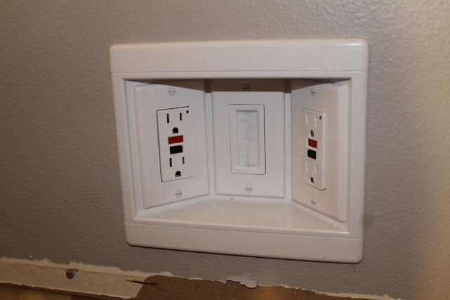 Outlet Box For Behind Mounted Tv Wall Mounted Tv Tv Wall Mounted Tv