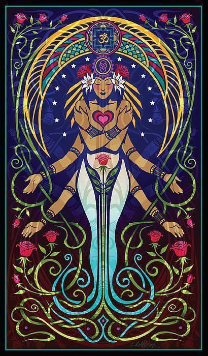 Her Spirit Essence Heressence Shiva Shakti Christina Mcallister Love V2 Http Cristinamcallister Blogspot Com Art Feerique Symboles De Yoga Art Celte