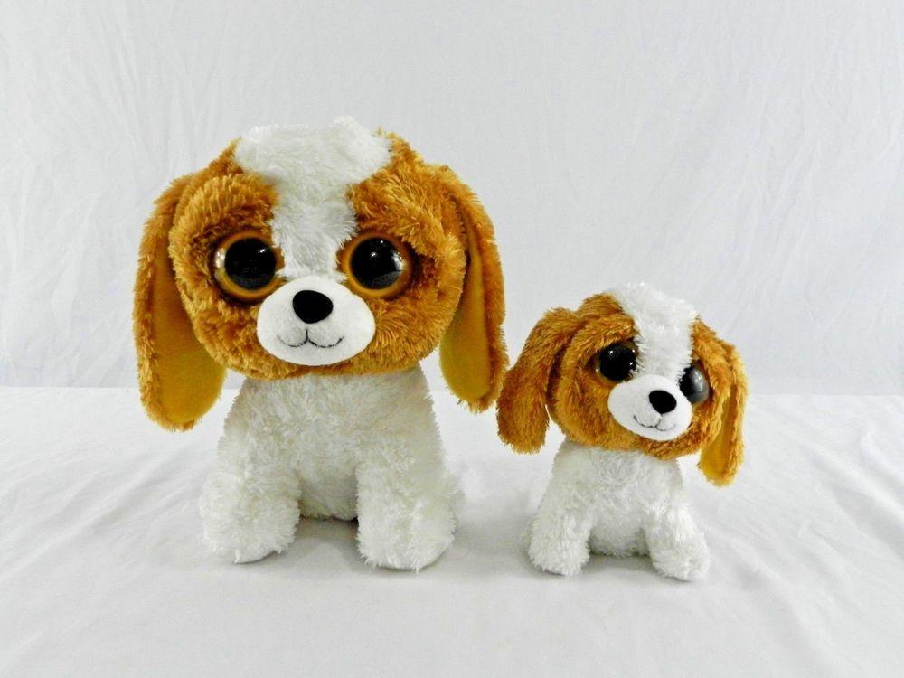 2010 Medium 9 Cookie Ty Beanie Boo Tysilk Plush Dog Small 6