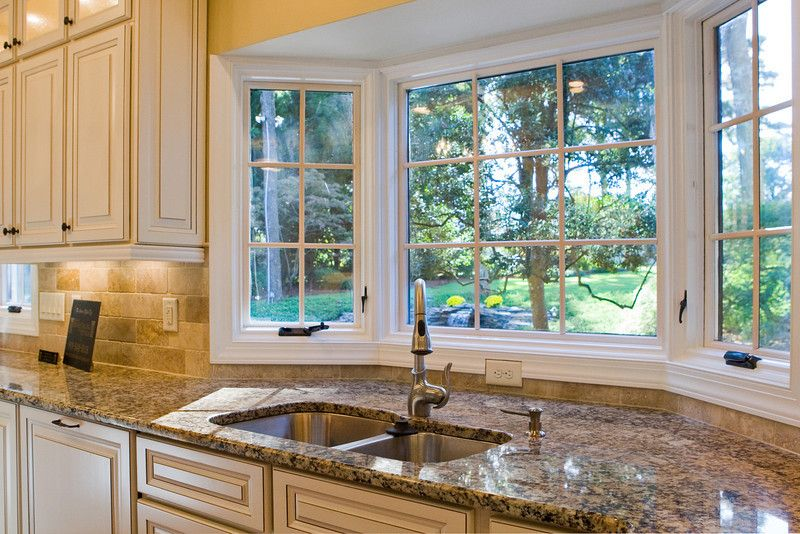 Styling Options For Your Kitchen Windows Window Kitchens And - Bay window kitchen