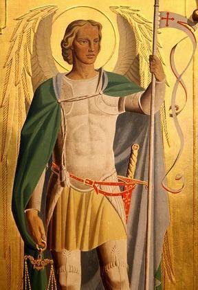 San Miguel Arcángel en el gran defensor de la fe