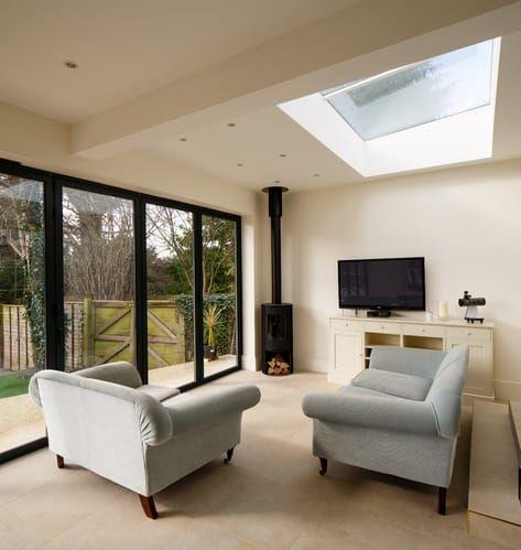 SkyView Rooflight Installation #extensionideas