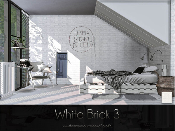 Sims 4 Walls Cc Sims 4 Downloads White Brick Old Brick Wall White Wood Wall