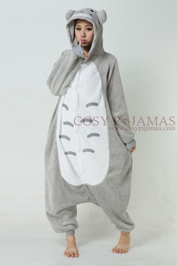 20f200c0ed16 Totoro Adult Onesie Kigurumi Pajamas. Someone is getting this for  christmas...Stan maybe