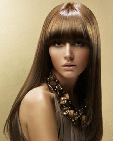 Loreal Hairstyles Beauty Fashion Hair Hair Styles 2014 Straight Hairstyles One Length Hair