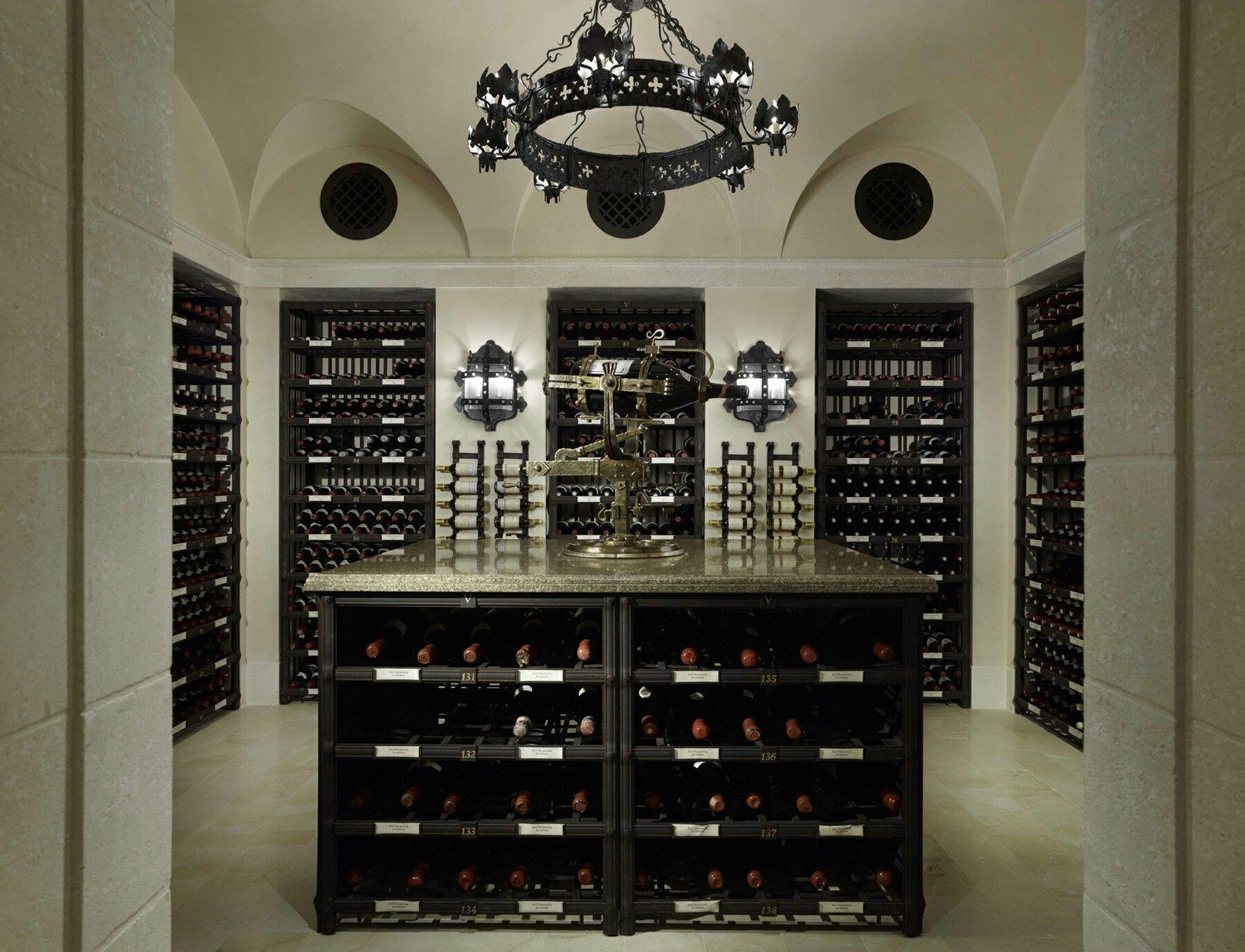insulating a wine cellar