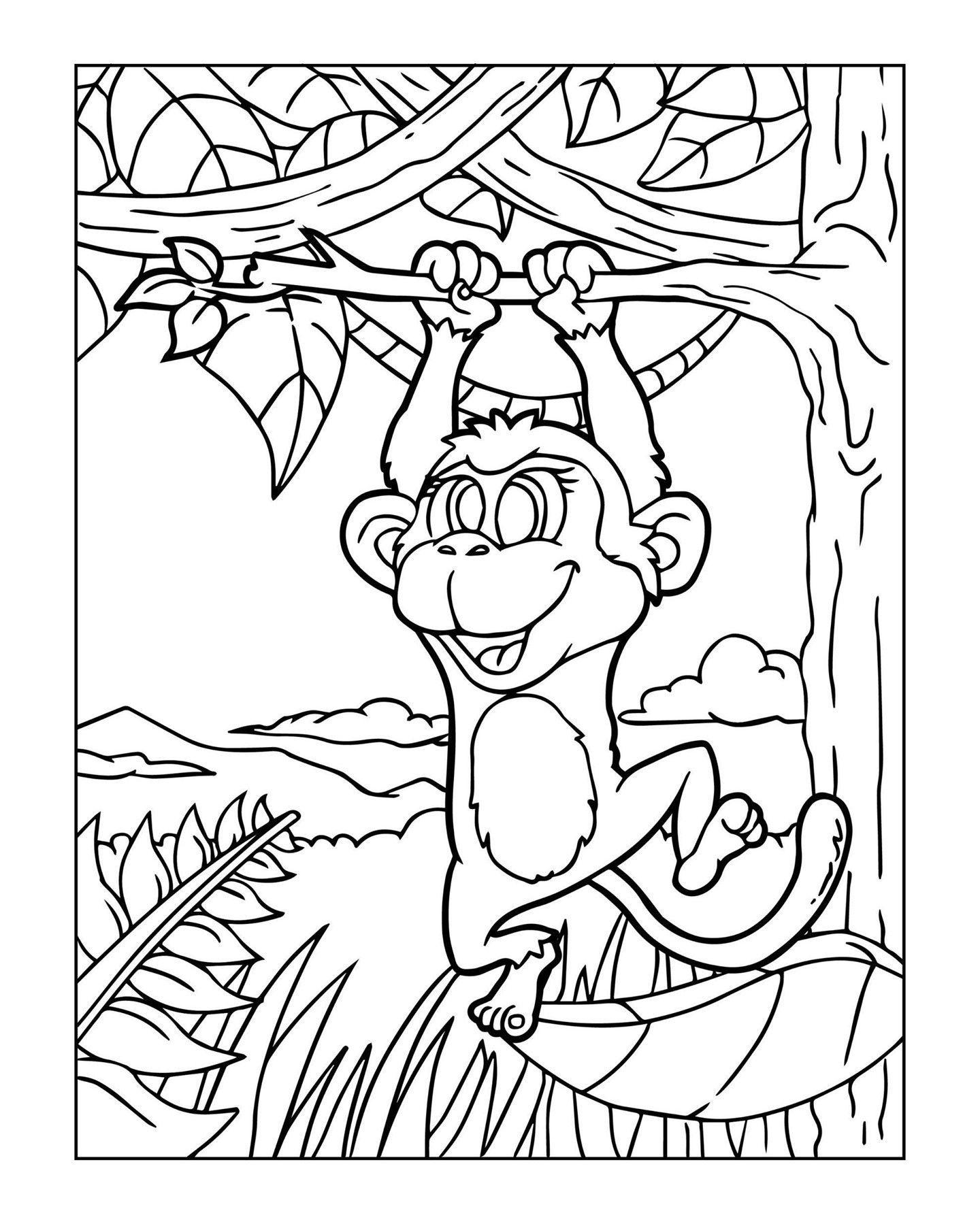 Zoo Animal Coloring Page 10 Zoo Animal Coloring Pages Animal Coloring Pages Coloring Pages [ 1799 x 1440 Pixel ]