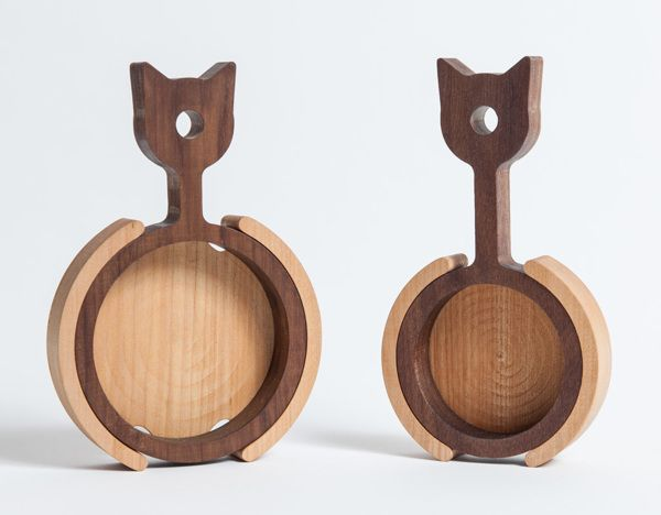 Playful wooden objects from a friend's company in Istanbul.