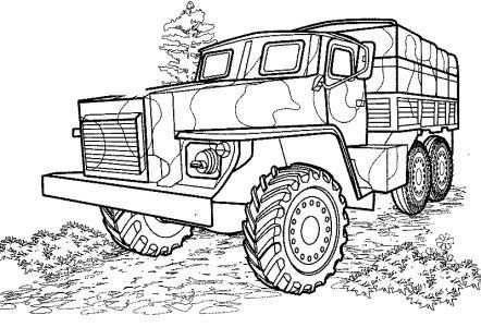 40 Free Printable Truck Coloring Pages Download Coloriage