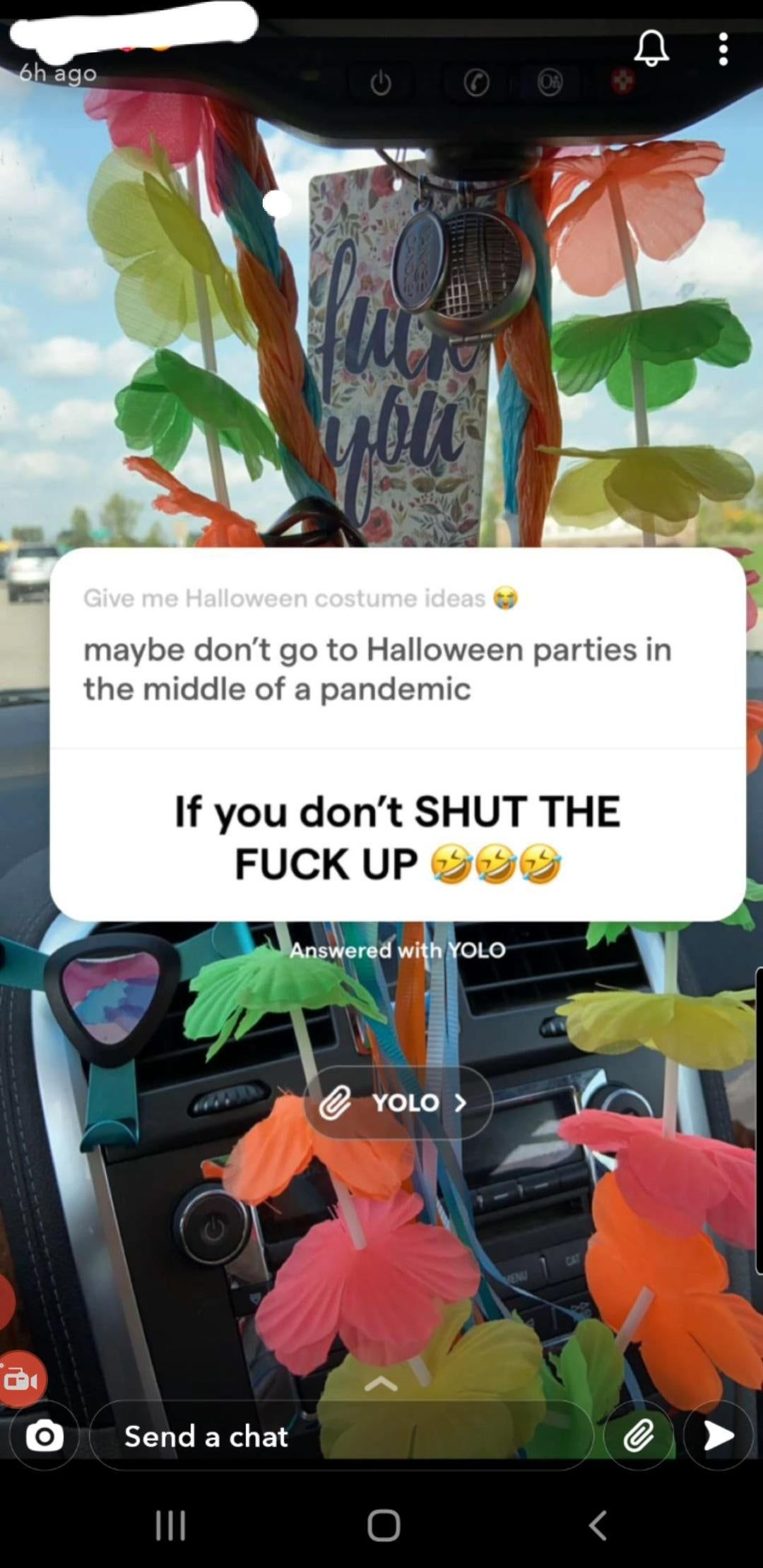 Halloween Party 2020 Michigan Girl on my snap is trying to start up Halloween parties and got