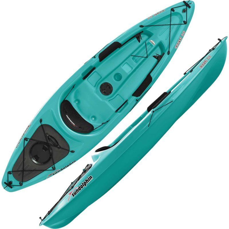 Sun Dolphin Coast 10 Kayak, Green Dolphin coast