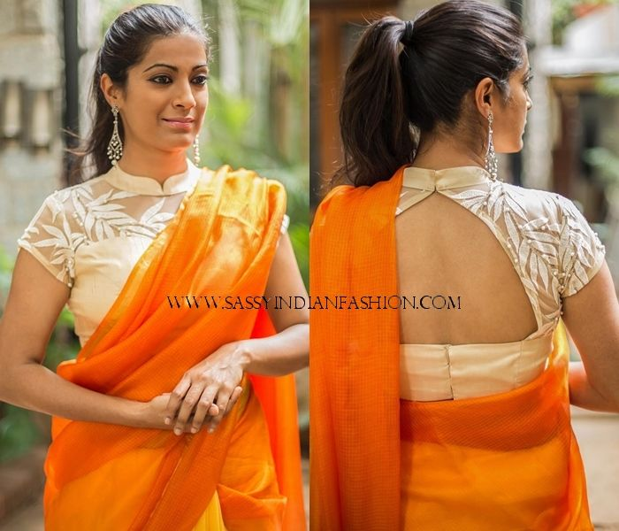 Plain Sarees With Designer Blouse 40 Creative Ideas Keep Me Stylish Netted Blouse Designs Blouse Designs High Neck Saree Blouse Designs Latest,Lightning Bolt Design Hair
