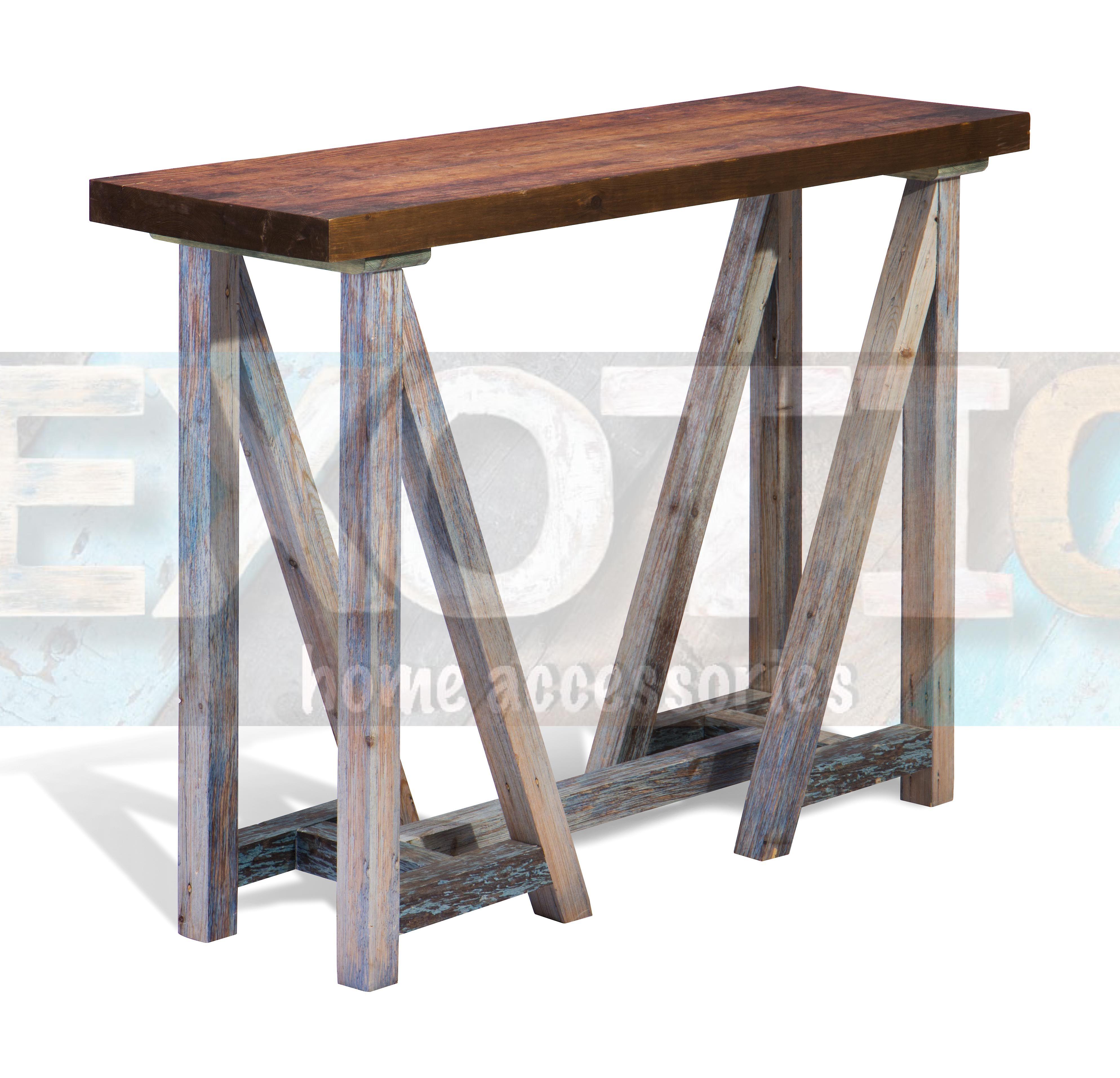 نوع المنتج ترابيزة كونسول خشب بني مطبوعة عالية أرجل رمادي اللون بني رمادي المقاس 85 سم 35 سم 120 سم Bar Table Table Entryway Tables