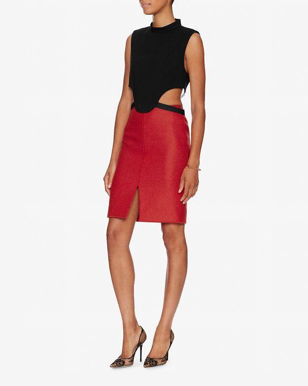 Barbara Bui Waist Strap Crop Top | Shop IntermixOnline.com
