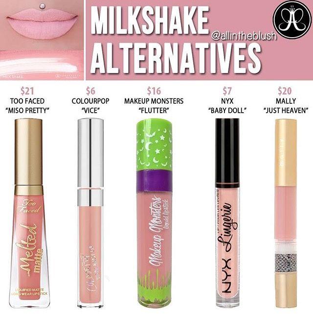 ABH 'Milkshake' Alternatives   Saved by Abby   allintheblush