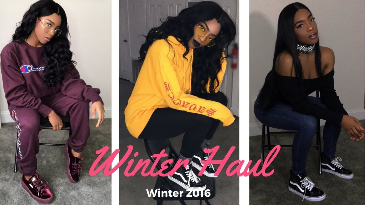 a04dcc1c7181 *HUGE* WINTER TRY ON HAUL Ft Missguided, XX1 SHEIN, Makemechic, NIKE, Boohoo  & More! - YouTube
