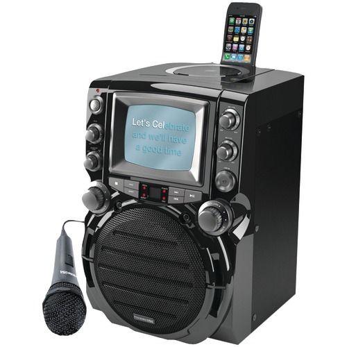 "Karaoke Usa Cd+g Karaoke System With 5"" Tft Color Screen - Consumer Electronics"
