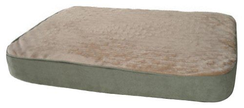 $78.08-$79.99 K&H Memory Sleeper, Medium 23 by 35 by 3-3/4 Inches, Sage - The benefits of a memory foam bed are well documented with human beds selling for thousands of dollars. The K&H Memory Sleeper is a beautiful, affordable way for all dogs to benefit from this technology. The attractive cover is removable for washing. The core is ingeniously designed for genuine memory foam comfort while aff ...