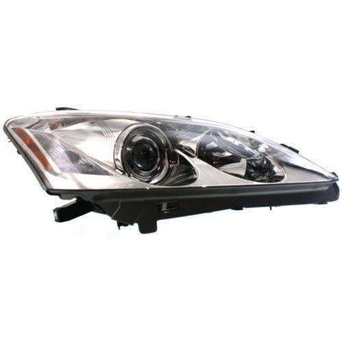 2007 2009 Lexus Es350 Head Light Rh Lens And Housing Halogen Lexus Halogen Headlights Headlights