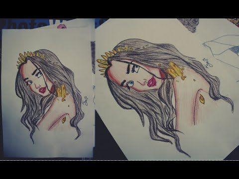Kuruboya çalışması ( Colored pencil drawing )   Drawing Book - Art ...